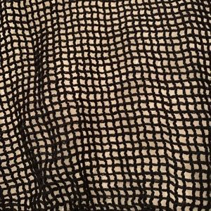 Accessories - Woven fishnet scarf